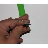 T-Molding verde 18mm