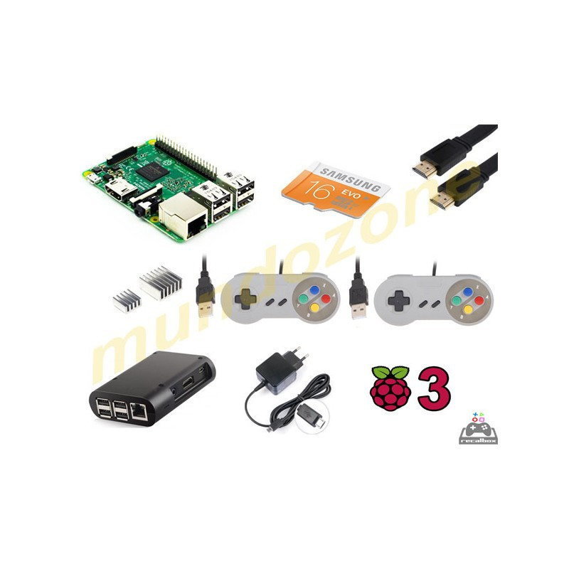 Raspberry pi 3 arkade kit arcade shop spain for Conectar botones arcade a raspberry pi 3